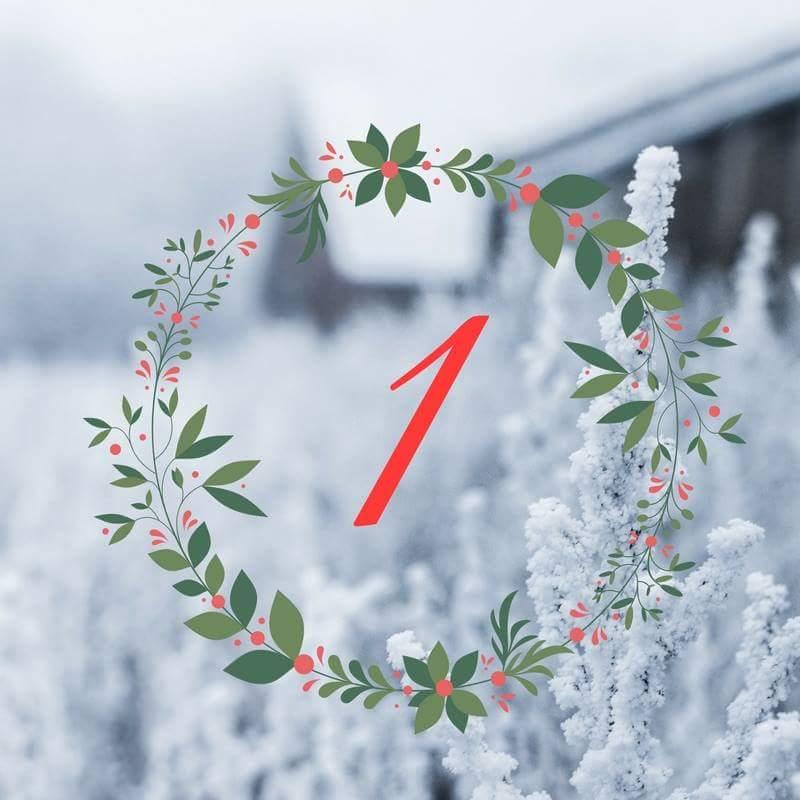 Adventskränzchen Türchen 1 – Die schönsten Reiseziele zur Weihnachtszeit