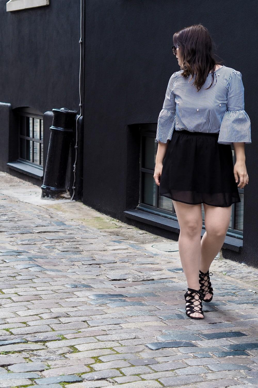 Black & Pearls | So stylst du einen Basic-Rock & 5 Outfitideen