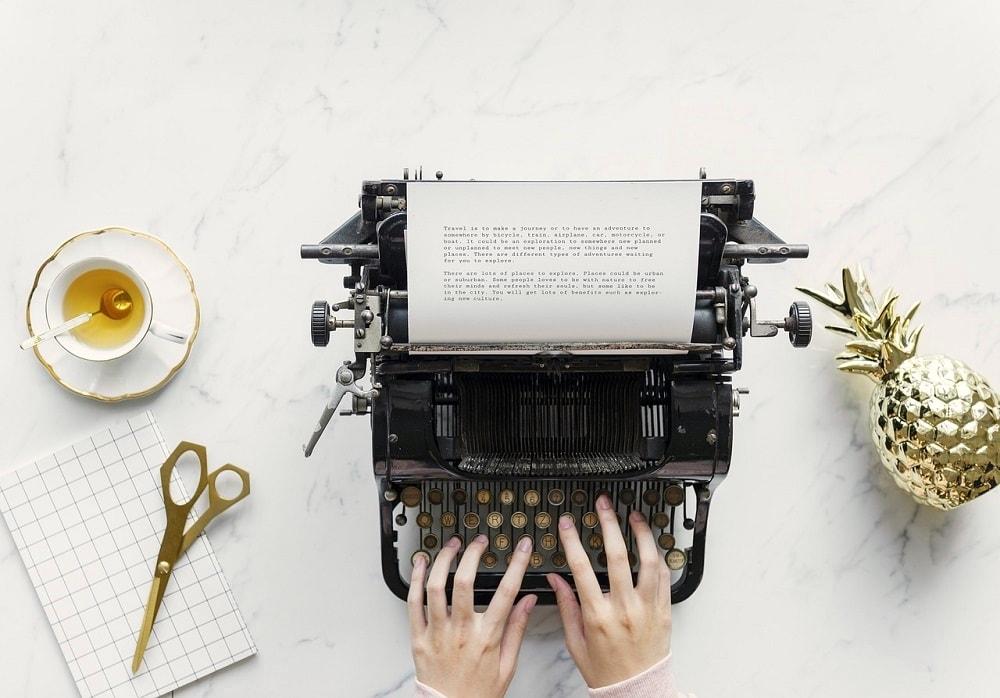 Ich schreibe mal ohne zu denken.